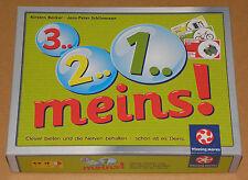 3-2-1 meins! Auktionsspiel Auktionen Familienspiel Gesellschaftsspiel KOMPLETT