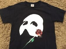 PHANTOM OF THE OPERA vintage Broadway official t-shirt Adult Small glow in dark