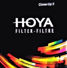 Hoya 77mm Close Up II +3 HMC Macro lens filter - New,  UK stock.
