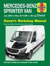 Mercedes-Benz Sprinter Diesel 2009-2018 New Haynes Manual Workshop Service Manua