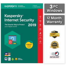 KASPERSKY INTERNET SECURITY 2020  3 PC 1 YEAR | GLOBAL KEY! Sale ! 10.99$