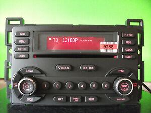 Pontiac G6 factory 6 disc CD player radio stereo 05 06 07 08 09 15941283 Delco