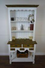Handmade Farmhouse Kitchen Dresser in Vintage White