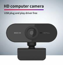 1080P HD Webcam Streaming Webkamera mit Autofokus/Stereo Mikrofon für Computer