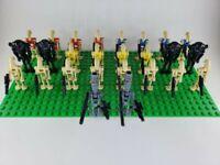 Custom Lego Star Wars Minifigures Battle Droid Army Lot of 26 + Blasters