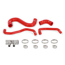 Mishimoto Silicone Lower Radiator Hose - fits Ford Mustang GT 5.0 V8 LHD - Red