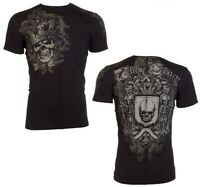 "AFFLICTION ""ORDAINED"" XTREME COUTURE LARGE T shirt Medieval Knight Skull NEW Tee"