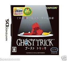 Used DS Capcom Ghost Trick NINTENDO JAPANESE IMPORT