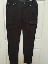Miss Me Cargo Pants Skinny CP1246A SZ 26x30 Military MSRP $89 Color GREY
