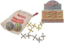 Jacks Game Metal Cross Ball Knucklebones Classic Party Filler Toyrific TY4413
