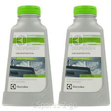 2 x ELECTROLUX Universal Dishwasher Deep Clean Degreaser Cleaner 200G