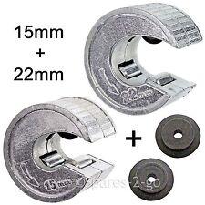 15mm 22mm PIPE CUTTER RAME ALLUMINIO taglio tubi idraulici strumento di taglio + RUOTE