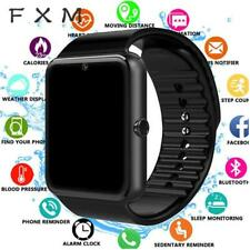 FXM Bluetooth Smart Watch Men for Iphone Phone for Huawei Samsung Android Suppor