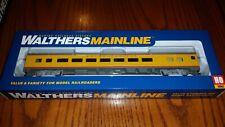 Walthers HO Scale 85' Budd Union Pacific Large Window Coach NIB