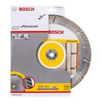 """BOSCH Standard 230mm / 9"""" Universal Diamond Disc Blade (2608615065) - High Speed"""