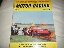 Include 200 JACK BRABHAM HONDA F2 F1 anteprima Allard DRAGSTER DRAGO test 1964