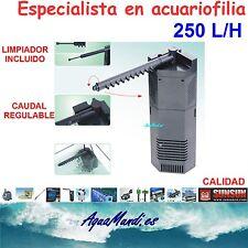 filtro interior interno acuario 250 L/H jp092 barato tortuguera pecera