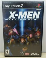X-Men: Next Dimension - Sony PlayStation 2, 2002 - Complete