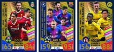 Match Attax Champions League 17/18 komplett Album Set 446+ALLE 16 LE KARTEN