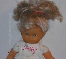"12"" Corolle Blonde Poupee Girl Polly? Doll Blue Sleep Eyes Vinyl Cloth France"