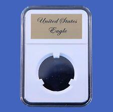 Elite Slab Coin Holder Indian Head Eagle with Etched Metal Label Little Bear
