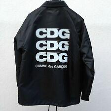 Comme Des Garcons Jacket CDG Windbreaker Black Medium Dover Street Coach Auth