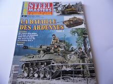 STEEL MASTERS HORS-SERIE ISSUE 29 -ARDENNES MILITARY WARGAMING MAGAZINE