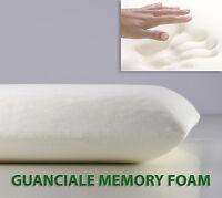OFFERTA Guanciale Memory Foam Cuscino Letto 15 Cm Pillow Made in Italy SARANI