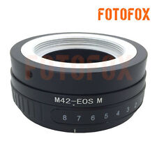M42-EOS M Tilt Adapter for M42 Screw Mount Lens to Canon EF-M M2 M3 5 Mirrorless