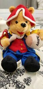 Walt Disney World 4th of July 2000 Winnie the Pooh Bean Bag Plush 9'' TAGS New