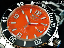 Tresod Men's Ocean Master AUTOMATIC Orange Dial Sapphire Crystal 300M SS Watch