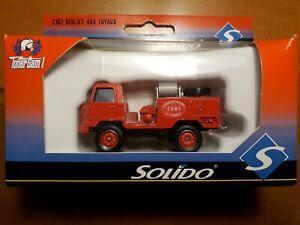 ► Miniature Sapeurs Pompiers SOLIDO 2162 Toner Gam I CCF Berliet Saint Tropez