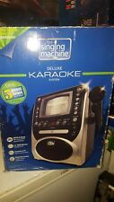 NEW The Singing Machine Deluxe Karaoke System