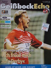Programm 1999/00 1. FC Köln - Fortuna Köln