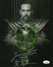 "Jason David Frank Autograph Signed 8x10 Photo - Power Rangers ""Tommy"" (JSA COA)"