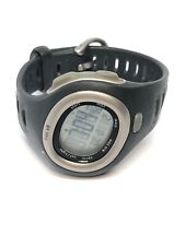 Nike Mens Digital Quartz Watch Black Rubber And Stainless