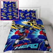 TRANSFORMERS HERO SINGLE DUVET COVER SET REVERSIBLE BEDDING KIDS