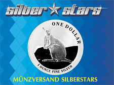 1 DOLLAR Silber Känguru  Kangaroo 2012  1 OZ Silber
