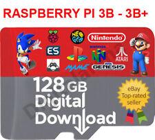 RETROPIE/RECALBOX RASPBERRY PI3 128 GB  DIGITAL IMAGE READY & WORKING