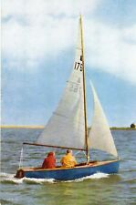 GP Fourteen Bermudan Sloop 1962 Postcard. Hard chine centreboard (259)