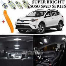 White LED License Plate Lights For Toyota Rav4 Rav 4 1996-2015 2011 2012 2013