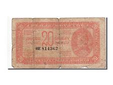 [#55346] Yougoslavie, 20 Dinara, 1944