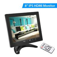 "8 "" LCD TFT HDMI Monitor VGA AV BNC USB Eingang für CCTV PC Überwachungskamera"