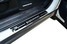 S/S Door Sill Panel Kick Step Scuff Plate Protector For Land Rover Discovery 3 4