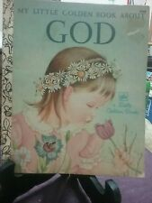MY LITTLE GOLDEN BOOK ABOUT GOD 1977  (VGC)