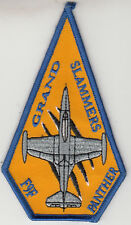 VFA-154 BLACK KNIGHTS THROWBACK F9F PANTHERS COFFIN SHOULDER PATCH