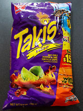 1 x Takis Fuego Hot Chilli Pepper & Lime Tortilla Chips 280g Bag - USA