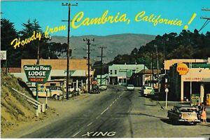 Cambria, California - old post card