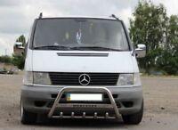 1999-2004 Mercedes VITO W638 Chrome Mirror Cover 2pcs ABS Chrome