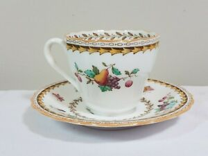 Tiffany & Co New York Cup Saucer Tea Set Spode Copeland China Rockingham Y5194
